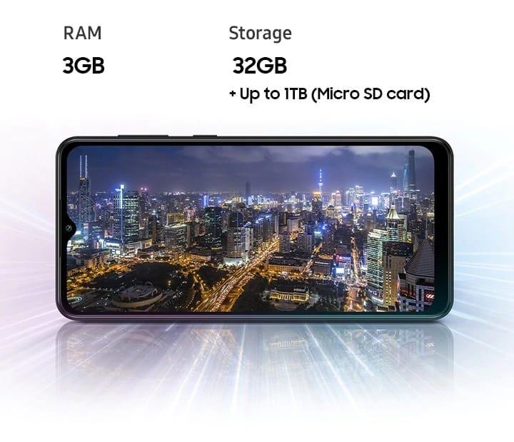 Performa Samsung Galaxy A02