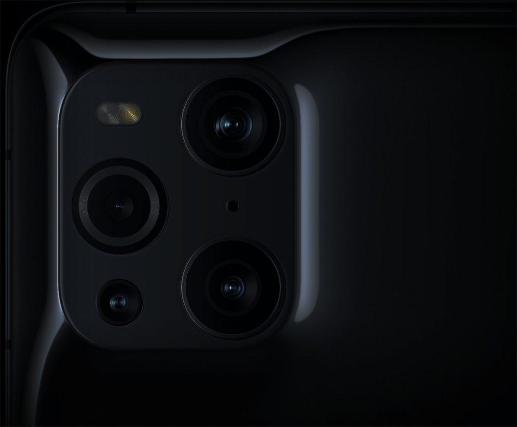 Kamera Belakan Oppo Find X3 Pro
