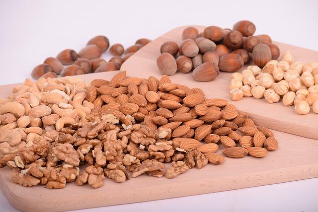 Gambar kacang-kacangan