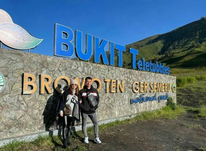 Gambar Bukit Teletubbies yang merupakan tempat wisata di cilegon