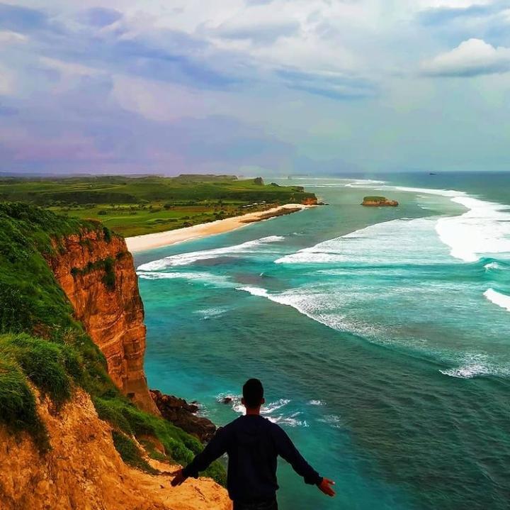 Gambar Pantai Kura Kura