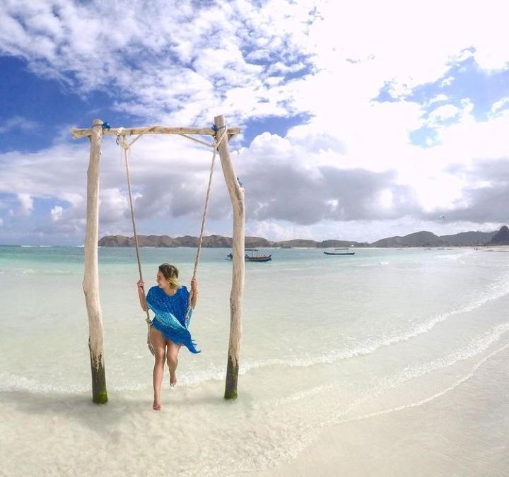 Gambar Pantai Tanjung Aan