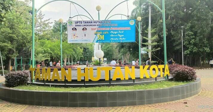 Gambar Taman Kota Bekasi
