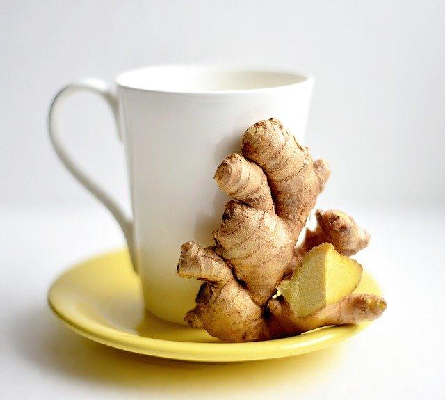 Gambar teh jahe yang dapat meredakan batuk berdahak