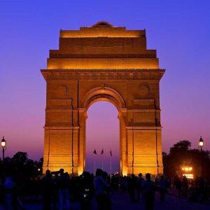 Gambar gerbang india yang merupakan tempat wisata di delhi