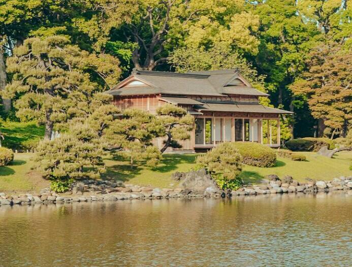Gambar Hamarikyu gardens
