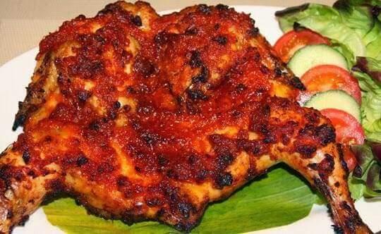 Gambar Ayam taliwang yang merupakan makanan khas lombok yang lezat