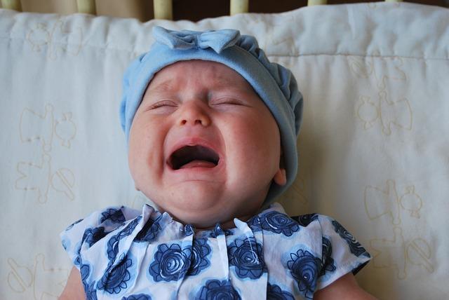 Gambar Bayi yang menangis