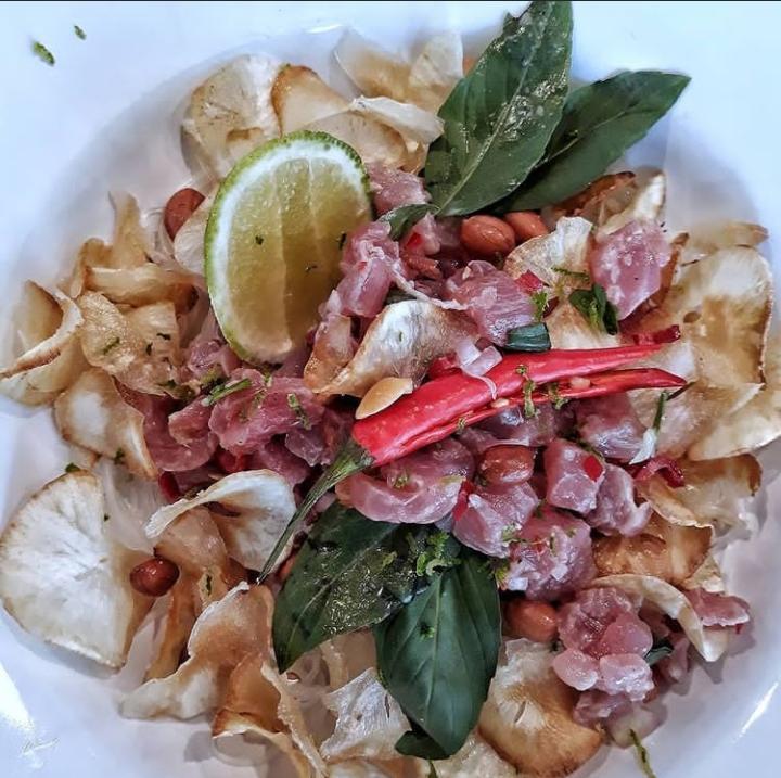 Gambar Gohu Ikan yang merupakan salah satu makanan khas ternate