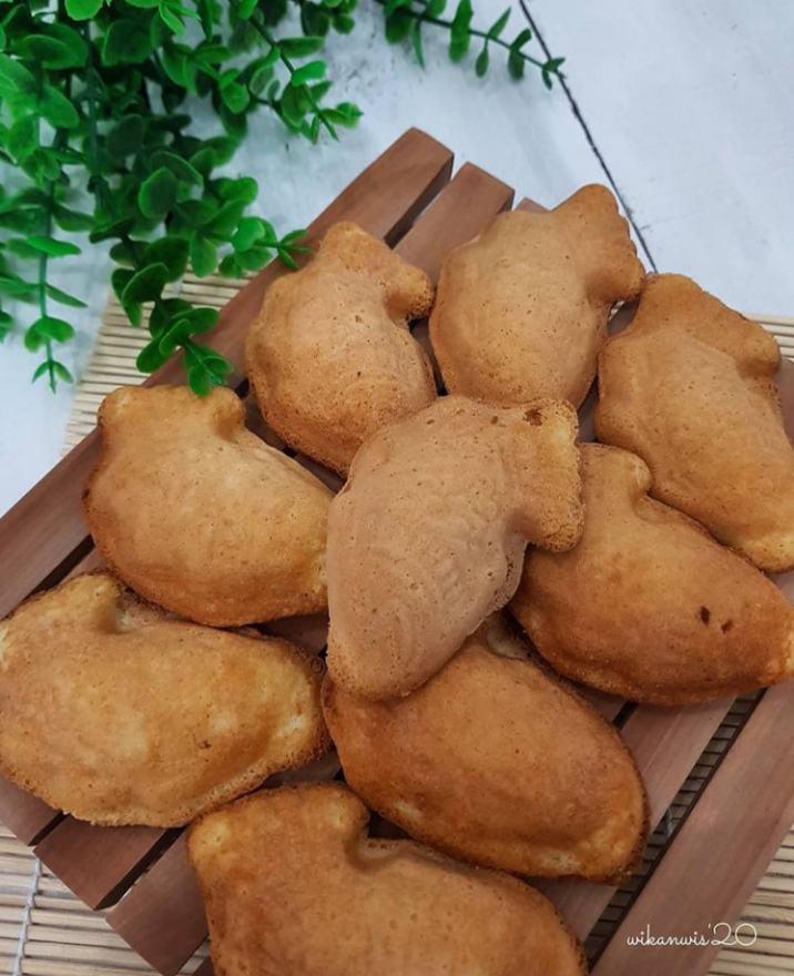 Gambar kue bhoi yang mempunyai ciri khas tersendiri baik dari rasa maupun bentuknya