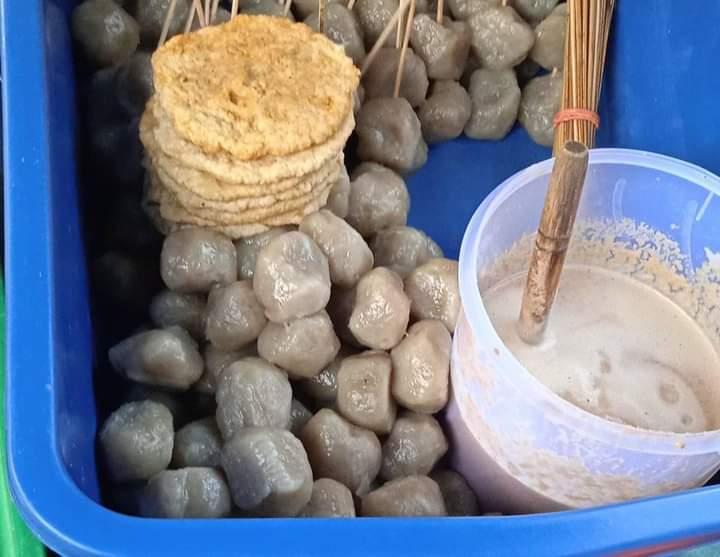 Gambar Pentol ikan yang merupakan makanan khas bawean