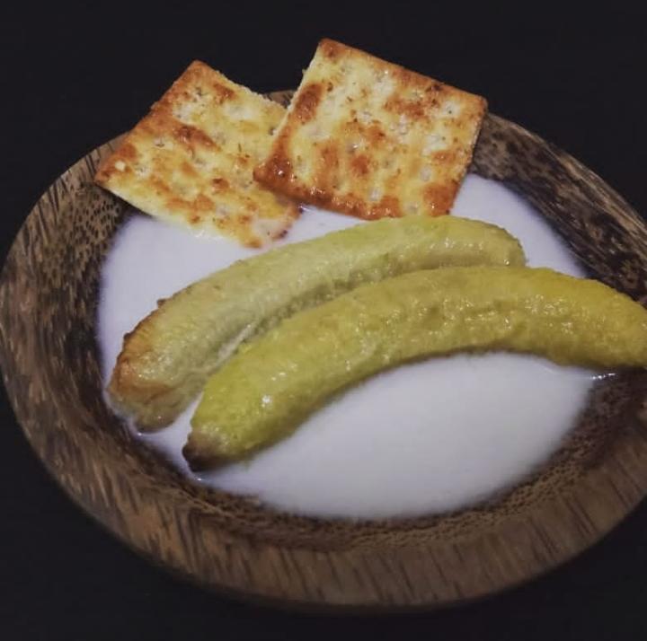 Gambar pisang santan