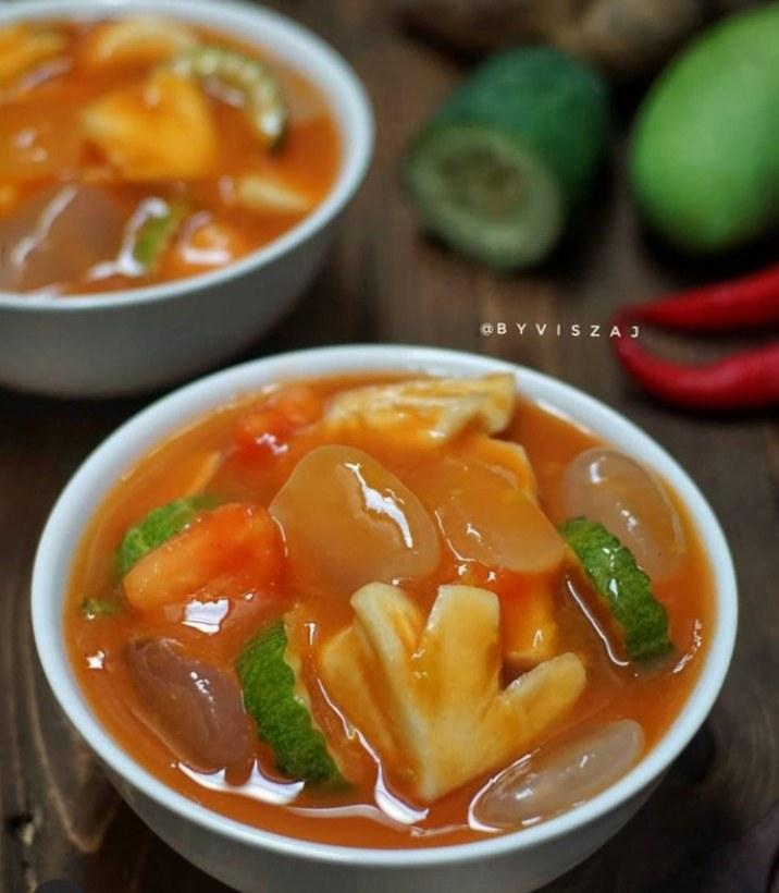 Gambar rujak aceh yang merupakan makanan khas aceh yang banyak diminati