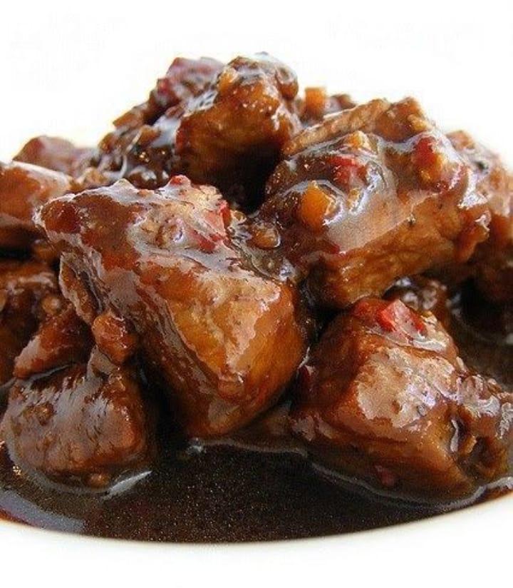 Gambar harinake yang merupakan makanan khas nias