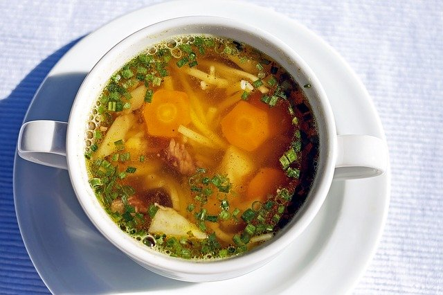 Gambar Sup hangat