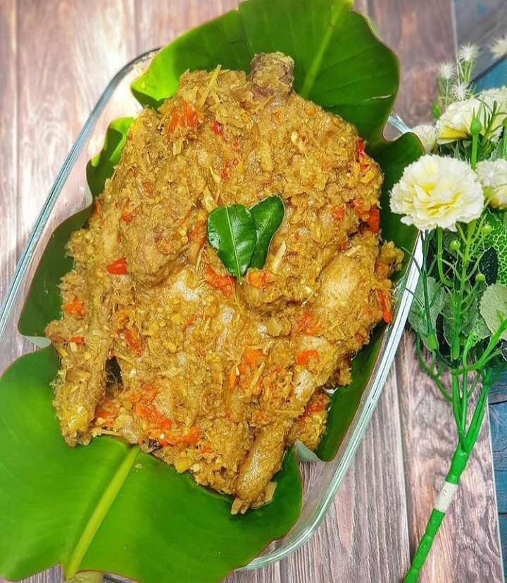 Gambar Bebek betutu yang merupakan makanan khas Denpasar
