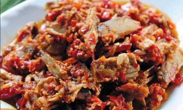 Gambar ikan asin richa yang sudah siap dikonsumsi