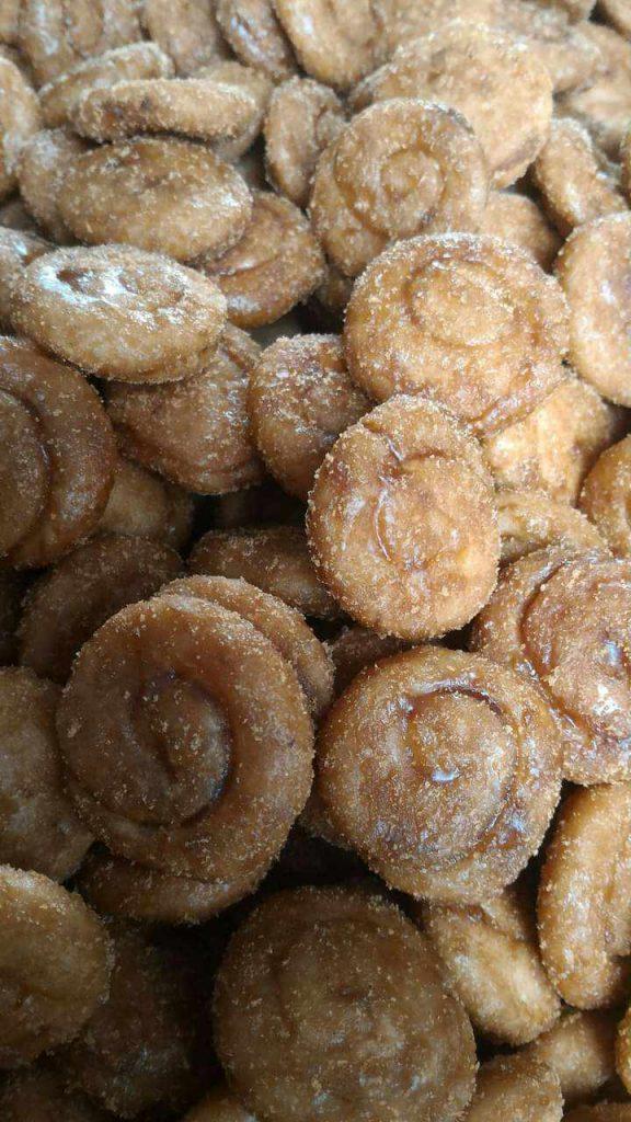 Gambar kue perut punai yang banyak digemari masyarakat bengkulu