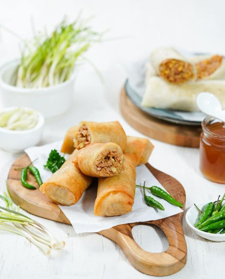 Lumpia Merupakan makanan khas Semarang