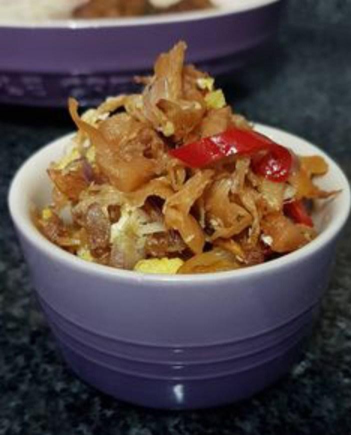 Gambar mandai yang merupakan makan khas banjarmasin