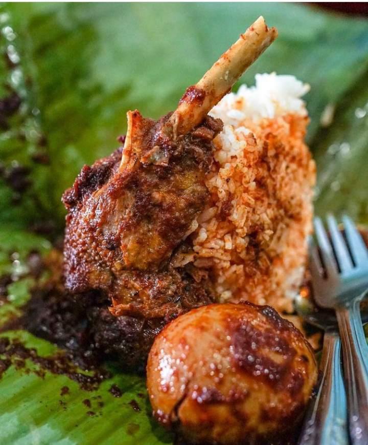 Gambar nasi itik gambut