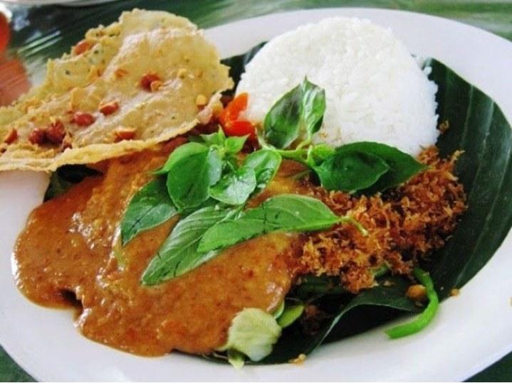 Gambar nasi pecal Semarang
