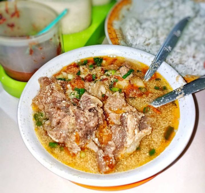 Gambar Sop krono yang merupakan makanan khas Makassar
