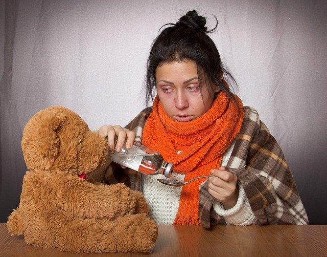gambar cara mengatasi batuk berdarah