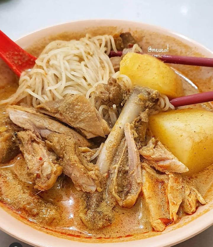 Gambar bihun kari yang merupakan makanan khas Medan