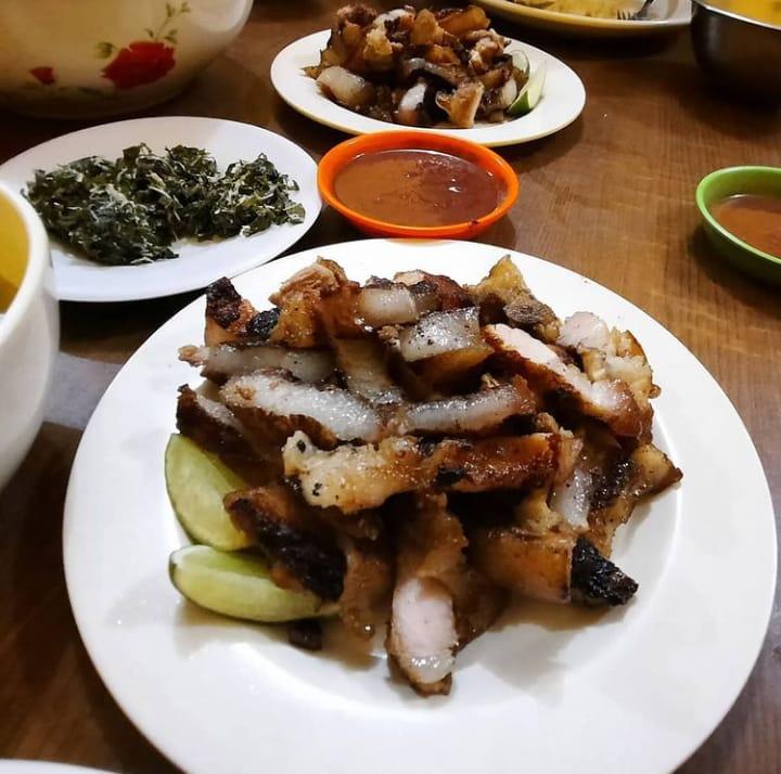 Gambar Bpk yang merupakan makanan khas karo