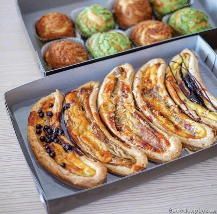 Gambar Pie pisang yang merupakan makanan khas Lampung