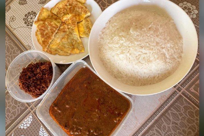 Gambar Pullut nasi yang sudah siap saji