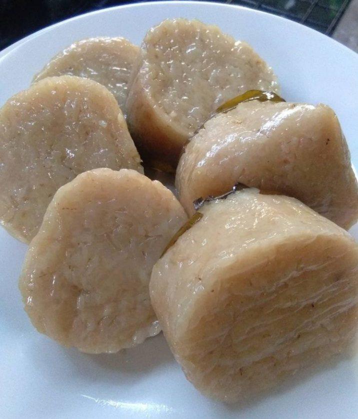 Gambar sekubal yang merupakan makanan khas Lampung
