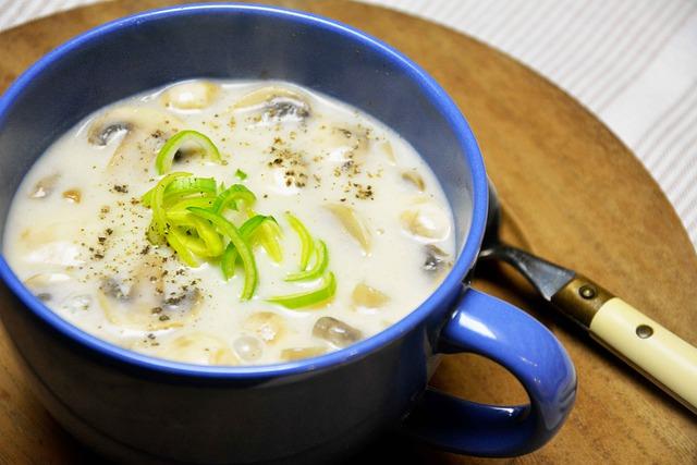 Gambar sup jamur