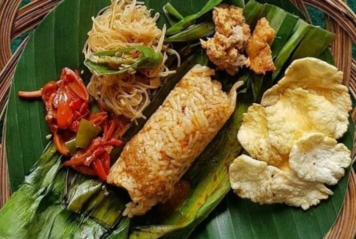 Gambar nasi ikan bakar sumsum